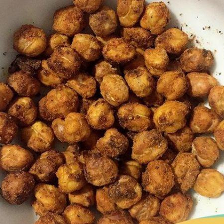 Receita: Snack de Grão de Bico