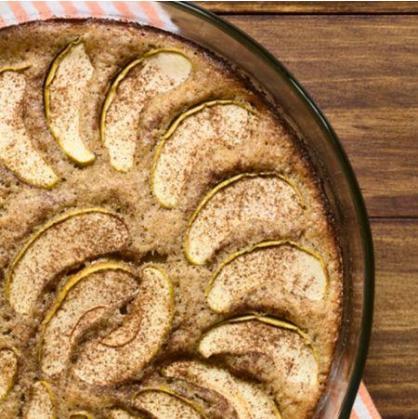 Receita Low Carb: Torta de Maçã de Frigideira