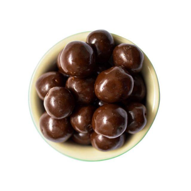 Drageado de Crispies de Quinoa com Chocolate Meio Amargo  100g