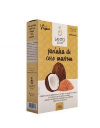 Farinha de Coco Marrom Santo Óleo - 200g
