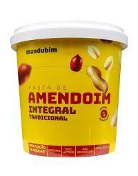 Pasta de Amendoim Integral Mandubim - 1,02Kg